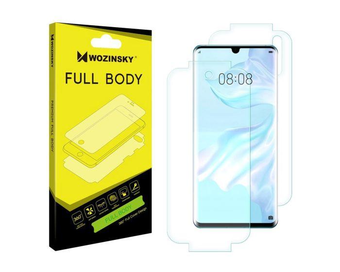 WOZINSKY Premium Full Body Screen Protector Self - Repair Front&Back (Huawei P30 Pro)