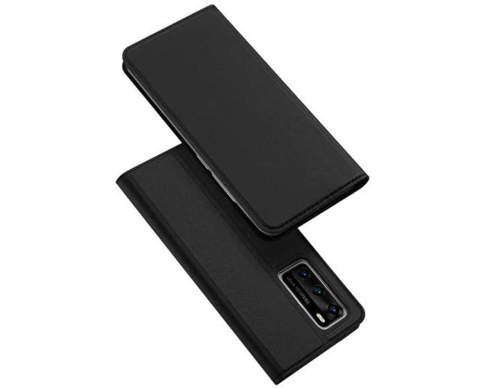 DUX DUCIS SkinPro Wallet Case Θήκη Πορτοφόλι με Stand - Black (Huawei P40)
