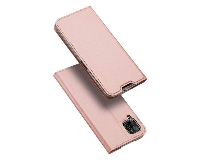 DUX DUCIS SkinPro Wallet Case Θήκη Πορτοφόλι με Stand - Rose Gold (Huawei P40 Lite)