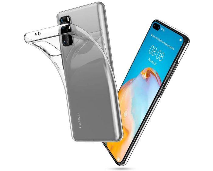 TECH-PROTECT Flexair Crystal Case Θήκη Σιλικόνης Διάφανο (Huawei P40 Pro)