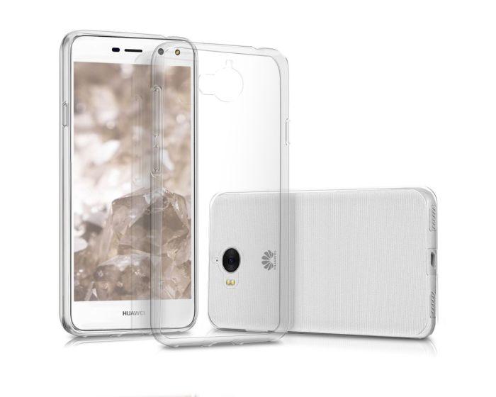 KWmobile Super Slim Crystal Clear Case (41725.03) Διάφανη Θήκη Σιλικόνης (Huawei Y5 2017 / Y6 2017)