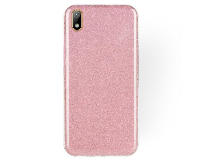 Forcell Glitter Shine Cover Hard Case Pink (Huawei Y5 2019)