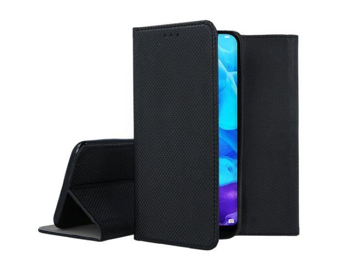 Forcell Smart Book Case με Δυνατότητα Stand Θήκη Πορτοφόλι Black (Huawei Y5 2019)