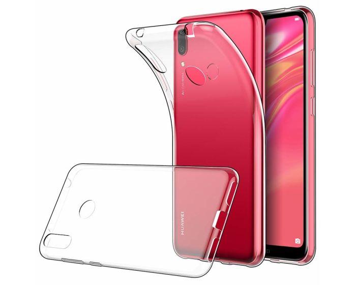 Ultra Slim 0.3mm Silicone Case Θήκη Σιλικόνης Διάφανο (Huawei Y7 2019 / Y7 Prime 2019)