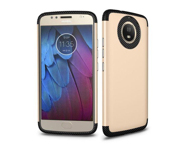 XCase Slim Armor Case Ανθεκτική Θήκη - Gold (Motorola Moto G5s)