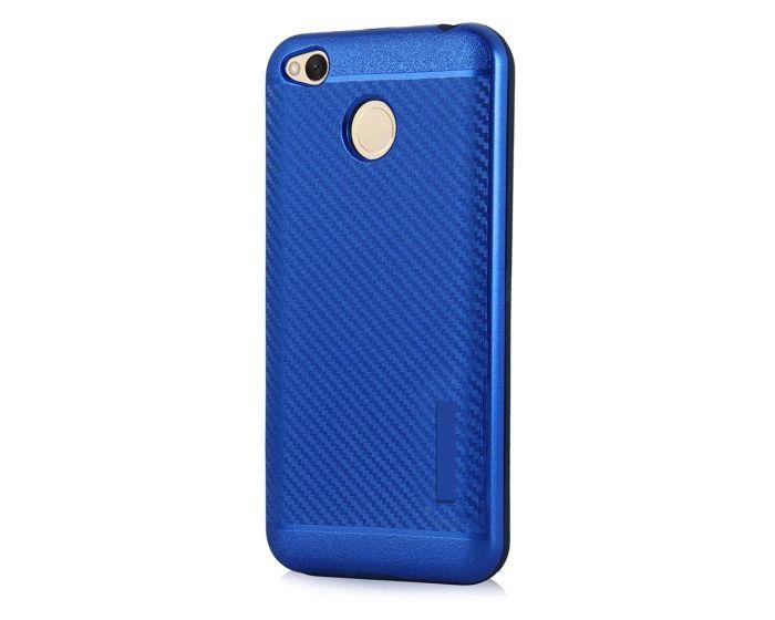 Carbon Slim Armor Case Ανθεκτική Θήκη - Blue (Xiaomi Redmi 4X)