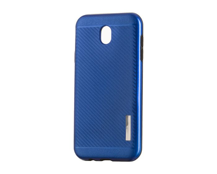 Carbon Slim Armor Case Ανθεκτική Θήκη - Blue (Samsung Galaxy J3 2017)