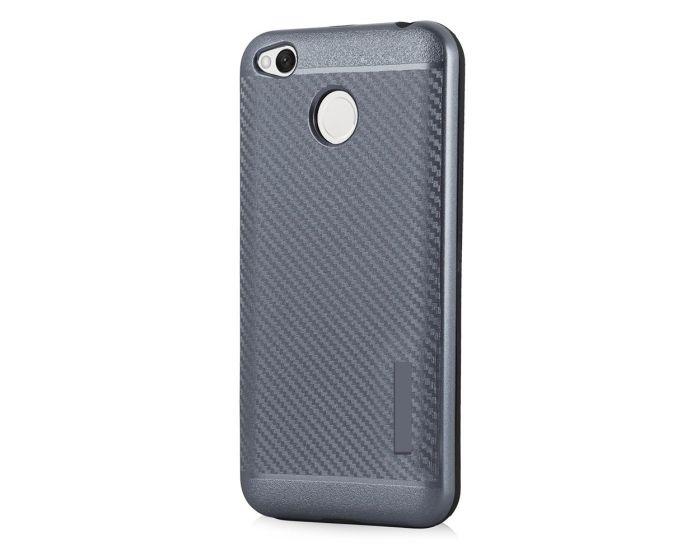Carbon Slim Armor Case Ανθεκτική Θήκη - Grey (Xiaomi Redmi 4X)