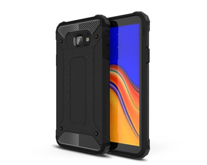 Forcell Hybrid Tech Armor Case Ανθεκτική Θήκη - Black (Samsung Galaxy J4 Plus 2018)
