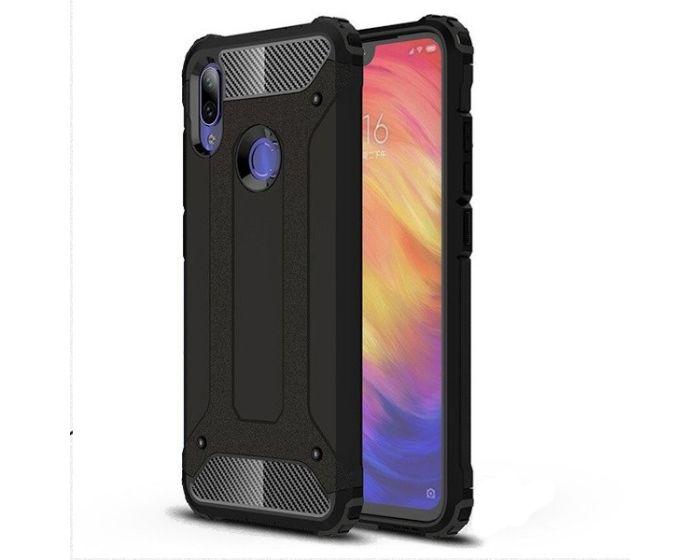Forcell Hybrid Tech Armor Case Ανθεκτική Θήκη - Black (Xiaomi Redmi 7)