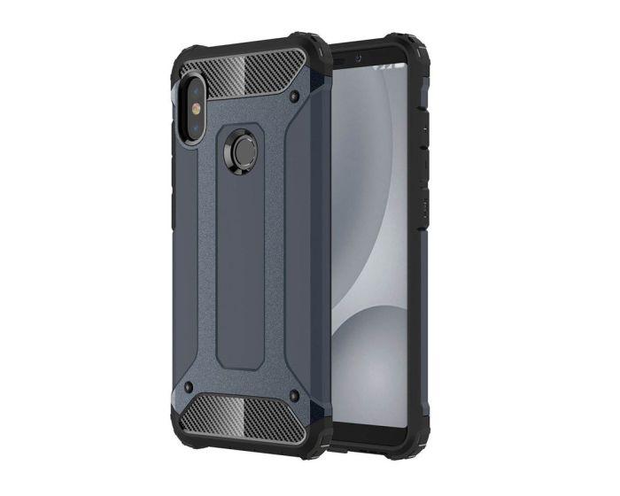Forcell Hybrid Tech Armor Case Ανθεκτική Θήκη - Blue (Xiaomi Mi A2 Lite / Redmi 6 Pro)