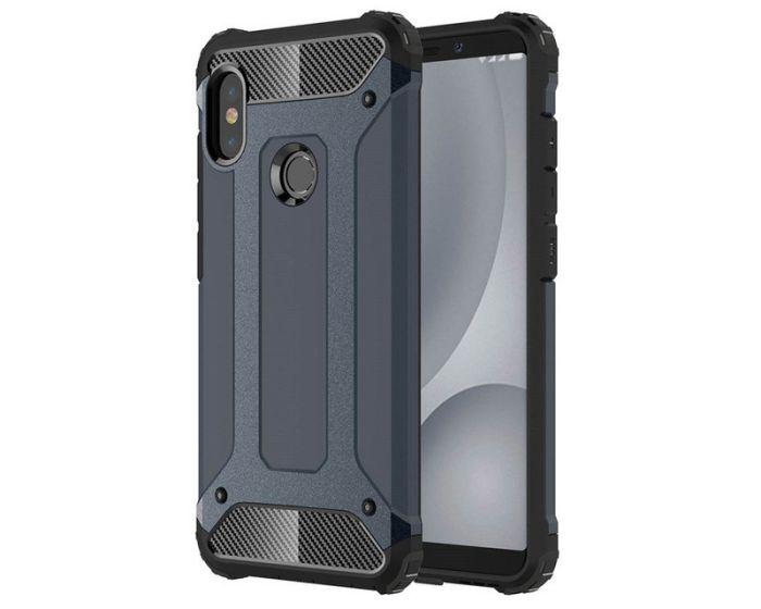 Forcell Hybrid Tech Armor Case Ανθεκτική Θήκη - Blue (Xiaomi Redmi Note 5)