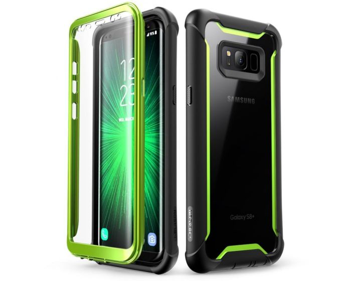 i-Blason Ανθεκτική Θήκη Ares Full Body Case With Built-In Screen Protector Green (Samsung Galaxy S8 Plus)