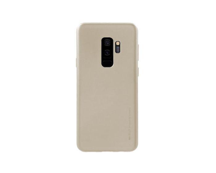 Mercury i-Jelly Slim Fit Case Θήκη Σιλικόνης Gold (Samsung Galaxy S9 Plus)