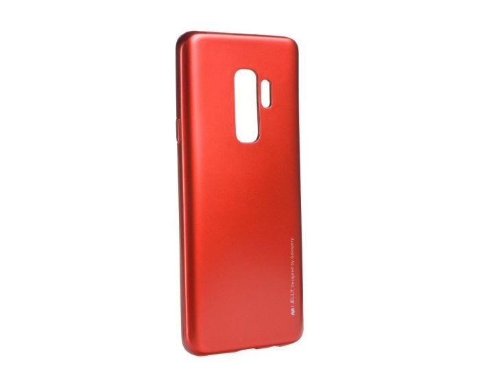 Mercury i-Jelly Slim Fit Case Θήκη Σιλικόνης Red (Samsung Galaxy S9 Plus)