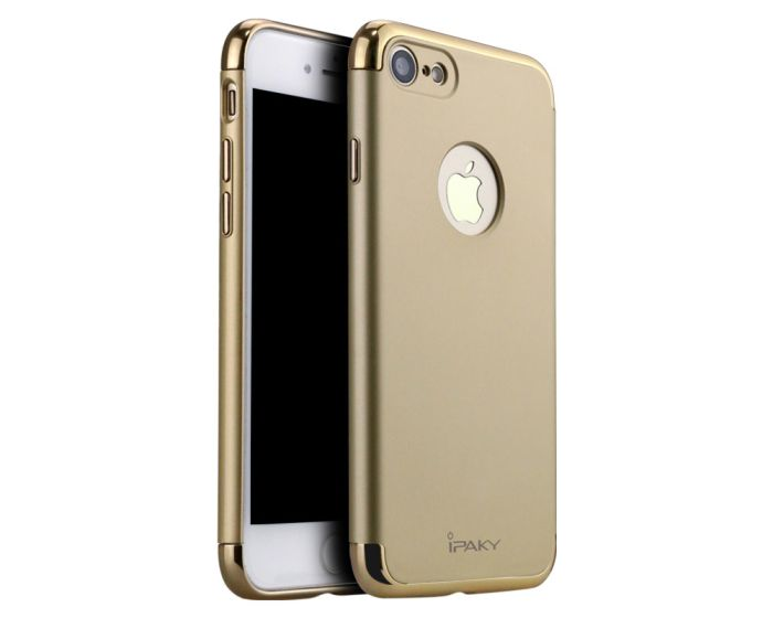iPAKY Luxury Armor 3 in 1 Case Gold (iPhone 7 / 8)