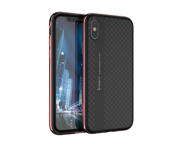 iPaky Bumblebee Hybrid Armor Case Red (iPhone X)