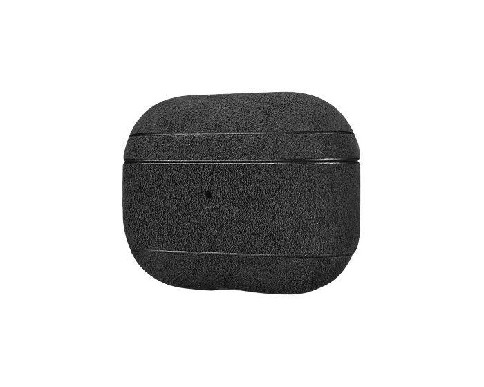 iCarer Alcantara Leather AirPods Pro Case Θήκη για Apple Airpods Pro - Black