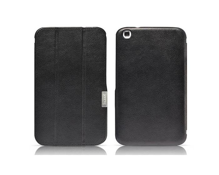 iCarer Ultra Thin Δερμάτινη Θήκη (00002318) Black (Samsung Galaxy Tab 3 10.1)