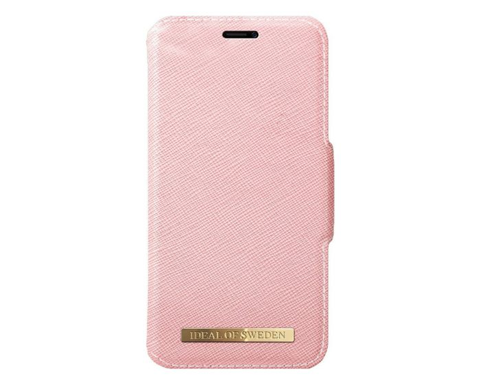 iDeal of Sweden Fashion PU Leather Wallet Case Θήκη Πορτοφόλι Pink (iPhone X / Xs)