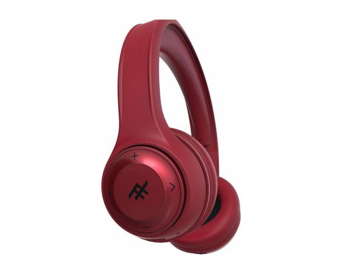 iFrogz Aurora Wireless Headphones + Mic (IFFAWL-RD0) Ασύρματα Ακουστικά Bluetooth - Red