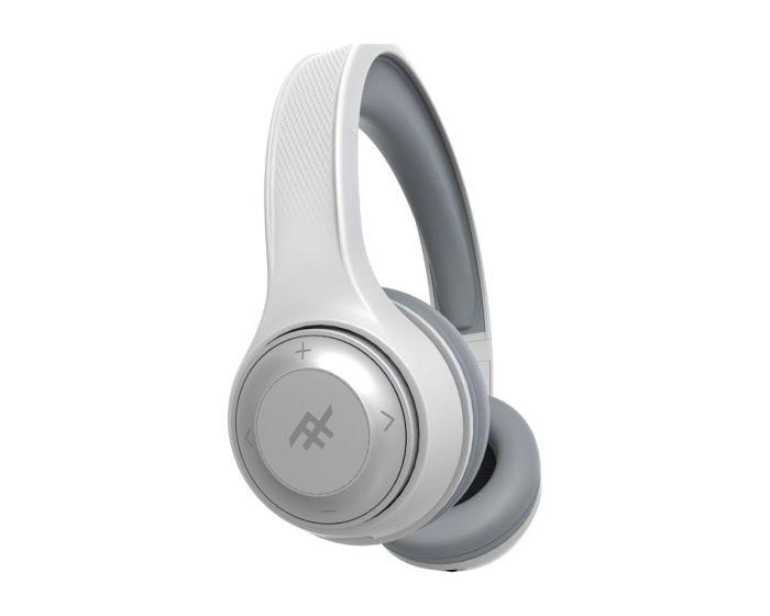 iFrogz Aurora Wireless Headphones + Mic (IFFAWL-WH0) Ασύρματα Ακουστικά Bluetooth - White