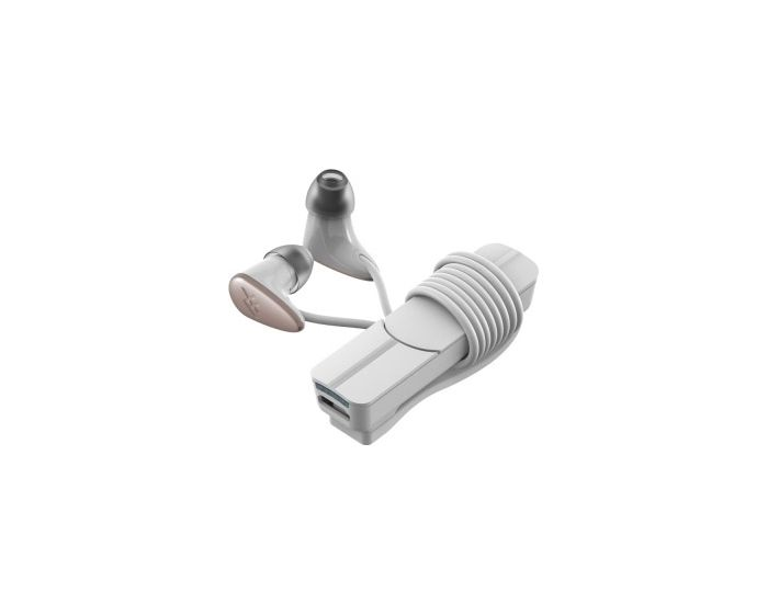 iFrogz Charisma (IFCRME-WD0) Ασύρματα Ακουστικά με Μικρόφωνο - White / Gold
