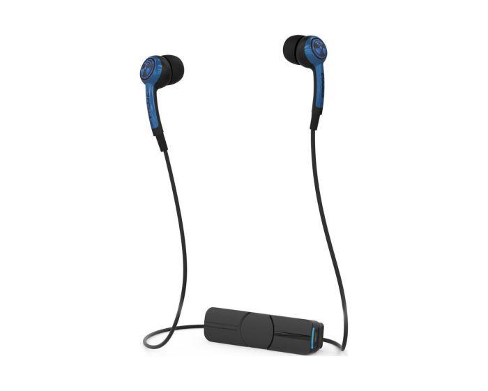 iFrogz Earpollution Plugz (IFPLGW-BL0) Ασύρματα Ακουστικά In-Ear Bluetooth - Μπλε