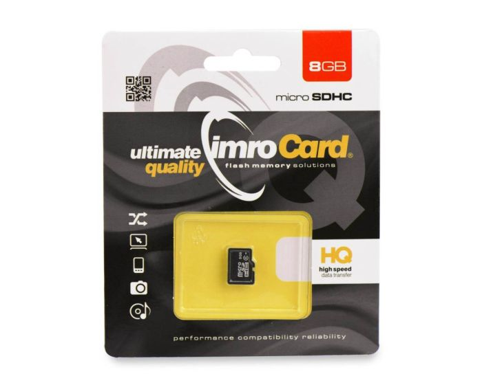Imro Memory Card microSDHC 8GB without Adapter