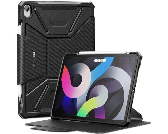 Infiland Multiple Angles Case Θήκη με Δυνατότητα Stand - Black (iPad Air 4 2020)