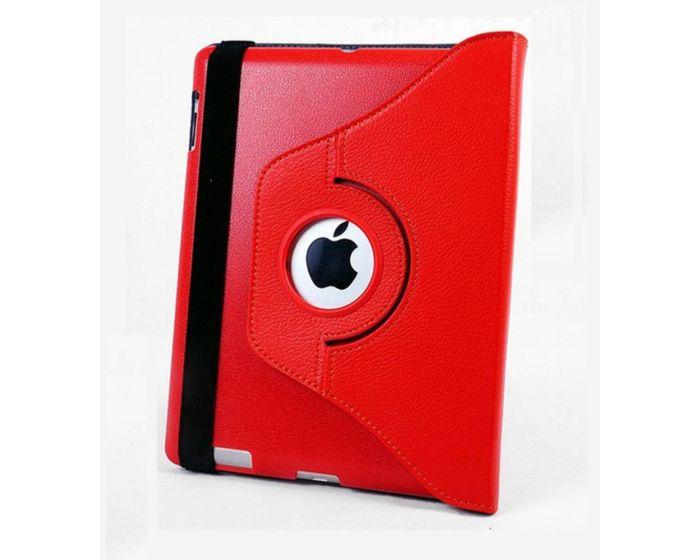 360° Rotated Case Περιστρεφόμενη Θήκη Κόκκινη (iPad Air)