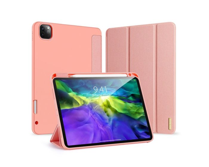 DUX DUCIS Domo Lite Smart Book Case Θήκη με Δυνατότητα Stand - Pink (iPad Pro 11'' 2018 / 2020)