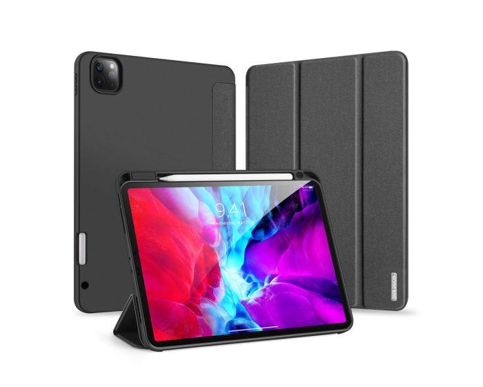 DUX DUCIS Domo Lite Smart Book Case Θήκη με Δυνατότητα Stand - Black (iPad Pro 12.9'' 2018 / 2020)