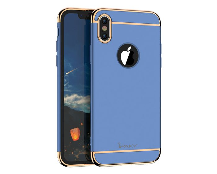 iPAKY Luxury Armor 3 in 1 Case Blue (iPhone X)