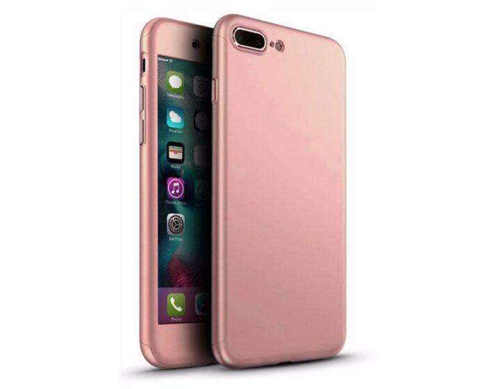 Olixar 360 Full Cover Case & Tempered Glass - Rose Gold (iPhone 7 Plus / 8 Plus)