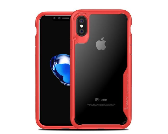 iPAKY Hybrid HD Ultra Slim Case Red (iPhone X)