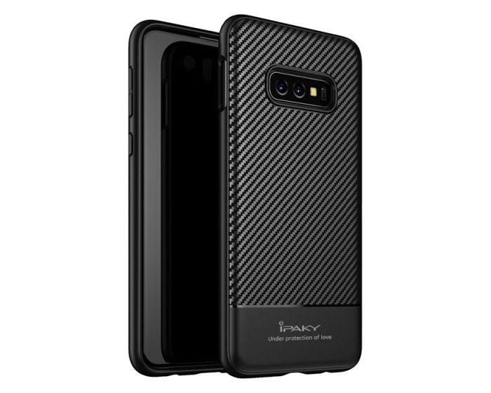 iPAKY Carbon Fiber Armor Case Black (Samsung Galaxy S10e)