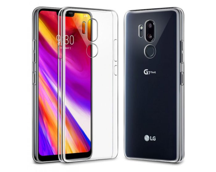 iPaky Effort TPU Cover & Tempered Glass - Διάφανο (LG G7 ThinQ)