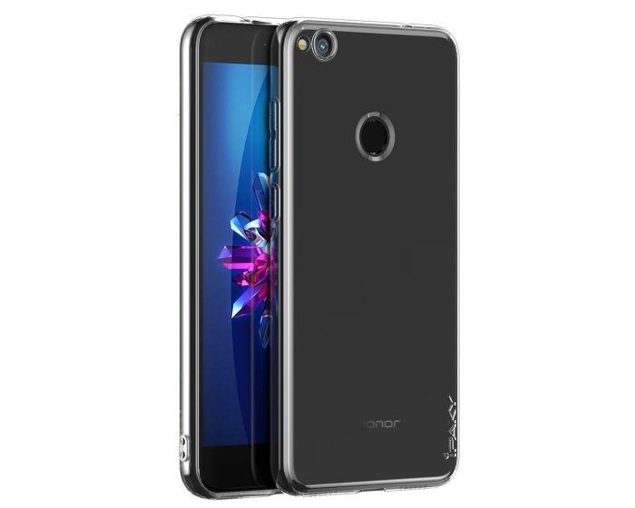 iPaky Effort TPU Cover & Tempered Glass - Διάφανο (Huawei P8 Lite 2017 / P9 lite 2017 / Honor 8 Lite)