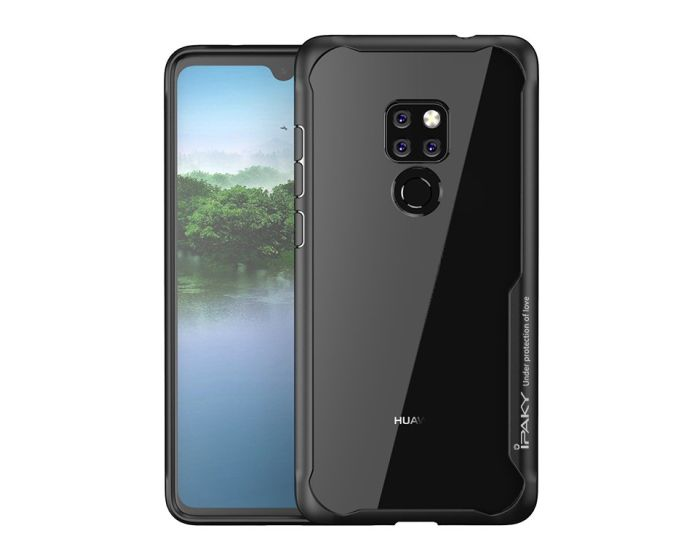 iPAKY Frame Hybrid Super Slim Case Black (Huawei Mate 20)