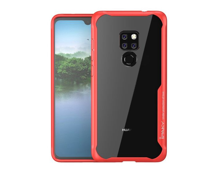 iPAKY Frame Hybrid Super Slim Case Red (Huawei Mate 20)