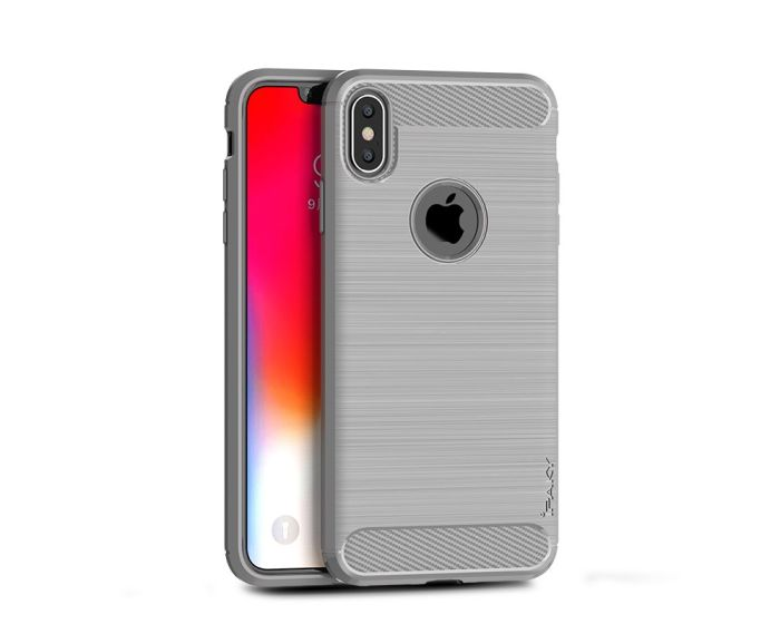 iPAKY Carbon Rugged Armor Case Grey (iPhone Xs Max)