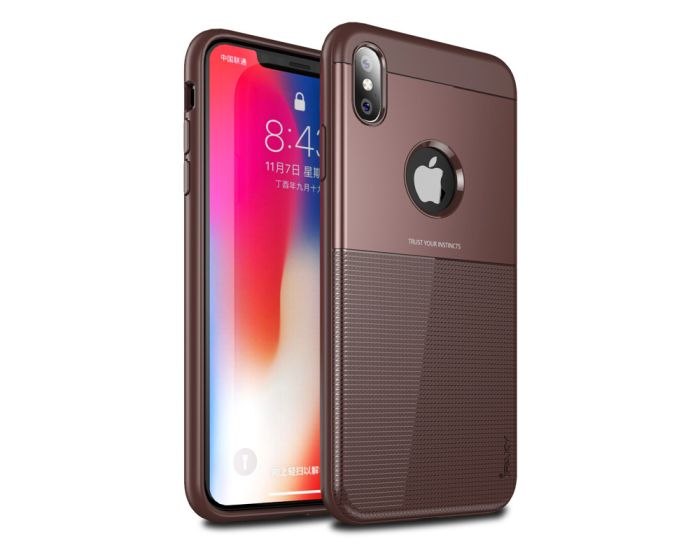iPaky Shield Case Brown (iPhone Xs Max)