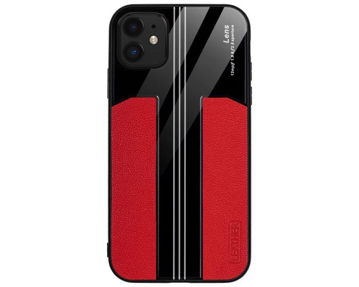 Bodycell Acrylic Back Cover Case Θήκη - Κόκκινο (iPhone 11)