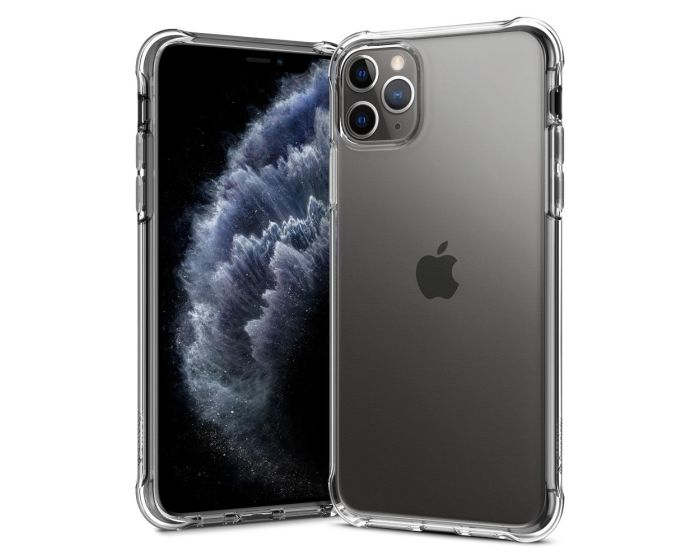 CASEOLOGY Solid Flex (ACS00299) Crystal Clear (iPhone 11 Pro Max)