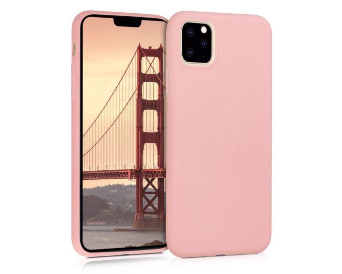 KWmobile Flexible Rubber Case Θήκη Σιλικόνης (49789.89) Rose Gold Matte (iPhone 11 Pro Max)