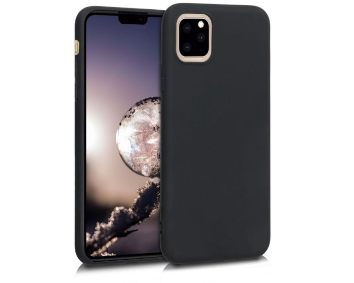KWmobile TPU Silicone Case (49789.47) Black Matte (iPhone 11 Pro Max)