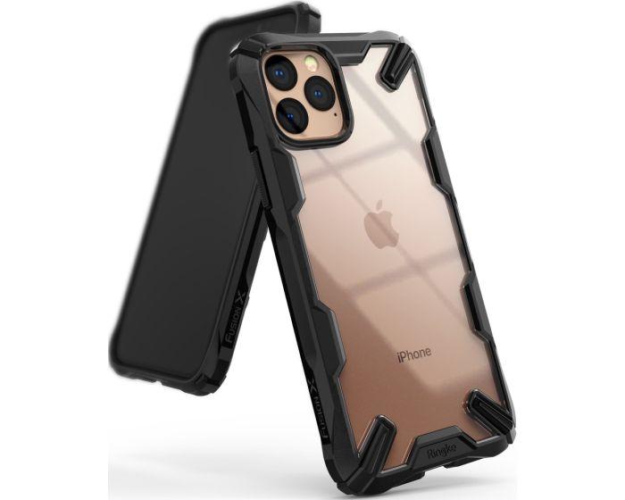 Ringke Fusion-X Σκληρή Θήκη με TPU Bumper Black (iPhone 11 Pro Max)