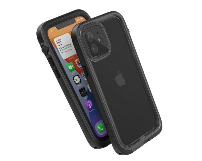 Catalyst Total Protection Waterproof Case (CATIPHO12BLKP) Αδιάβροχη Θήκη Stealth Black (iPhone 12 Pro)
