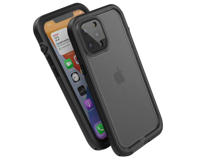 Catalyst Total Protection Waterproof Case (CATIPHO12BLKL) Αδιάβροχη Θήκη Stealth Black (iPhone 12 Pro Max)